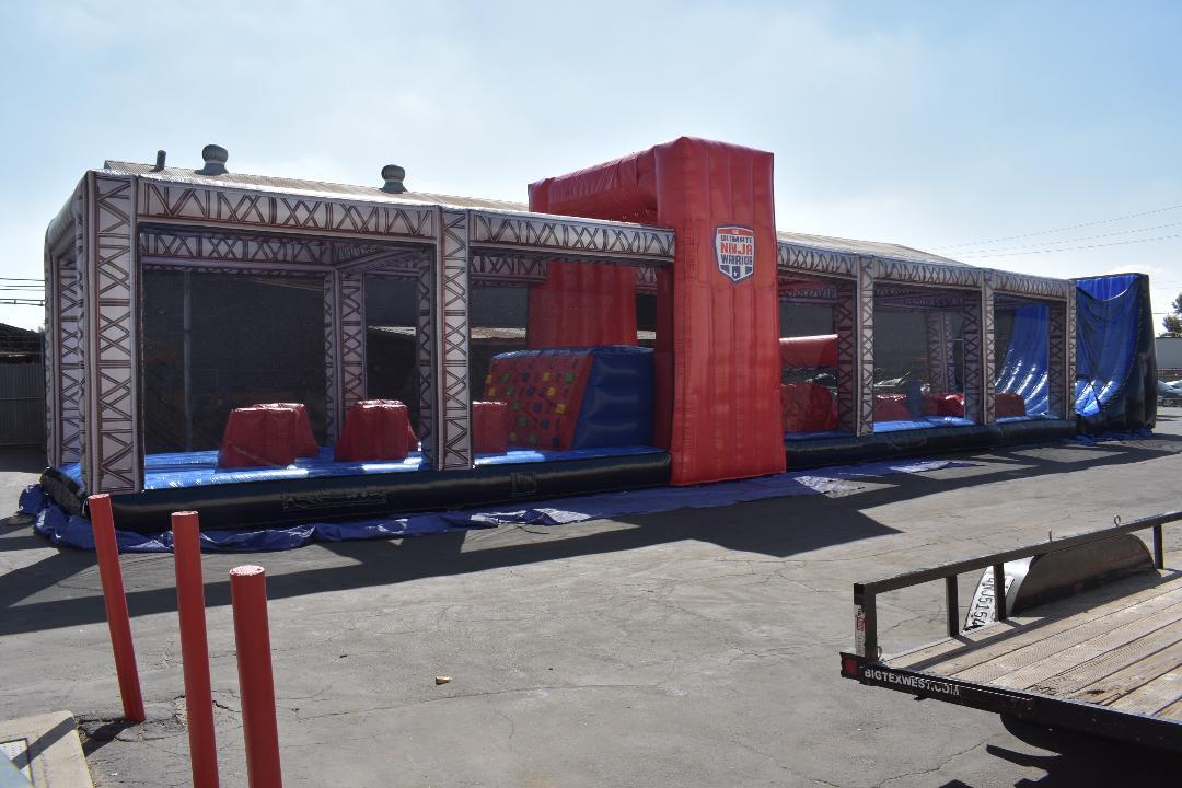 ninja warrior obstacle course rental