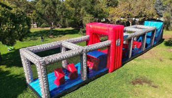 Ultimate Ninja Warrior Obstacle Course