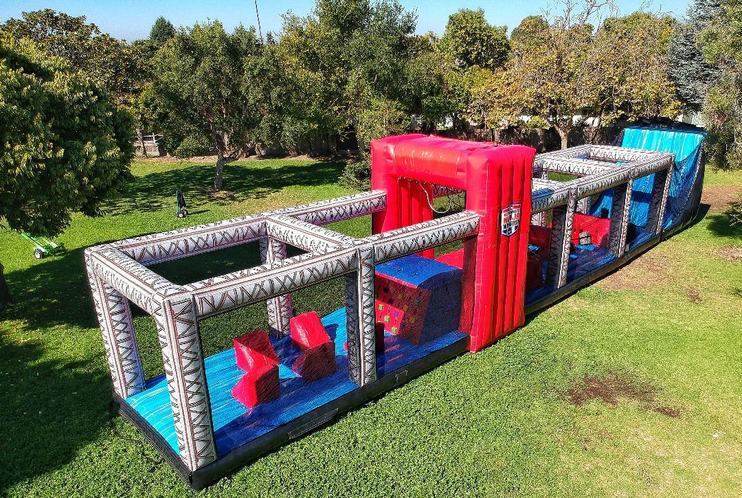 ultimate ninja warrior obstacle course rental california