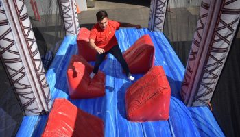 Inflatable Ninja Warrior Obstacle Course San Francisco