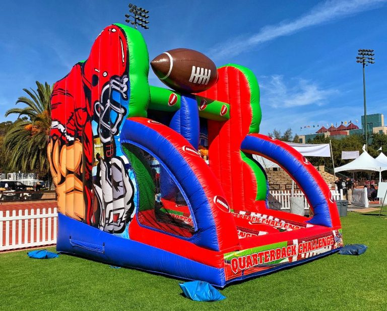 Football toss Game Rental