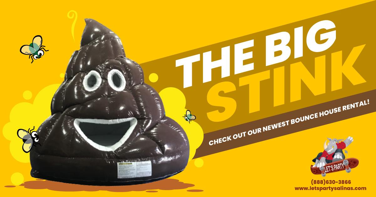 Poop Emoji Jump House Rental