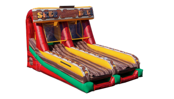 Inflatable Galactic Skeeball Game