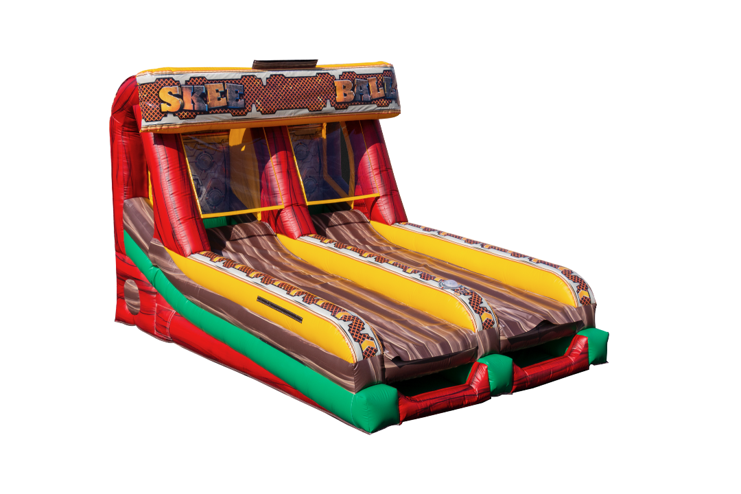 Inflatable Galactic Skeeball Game Rental