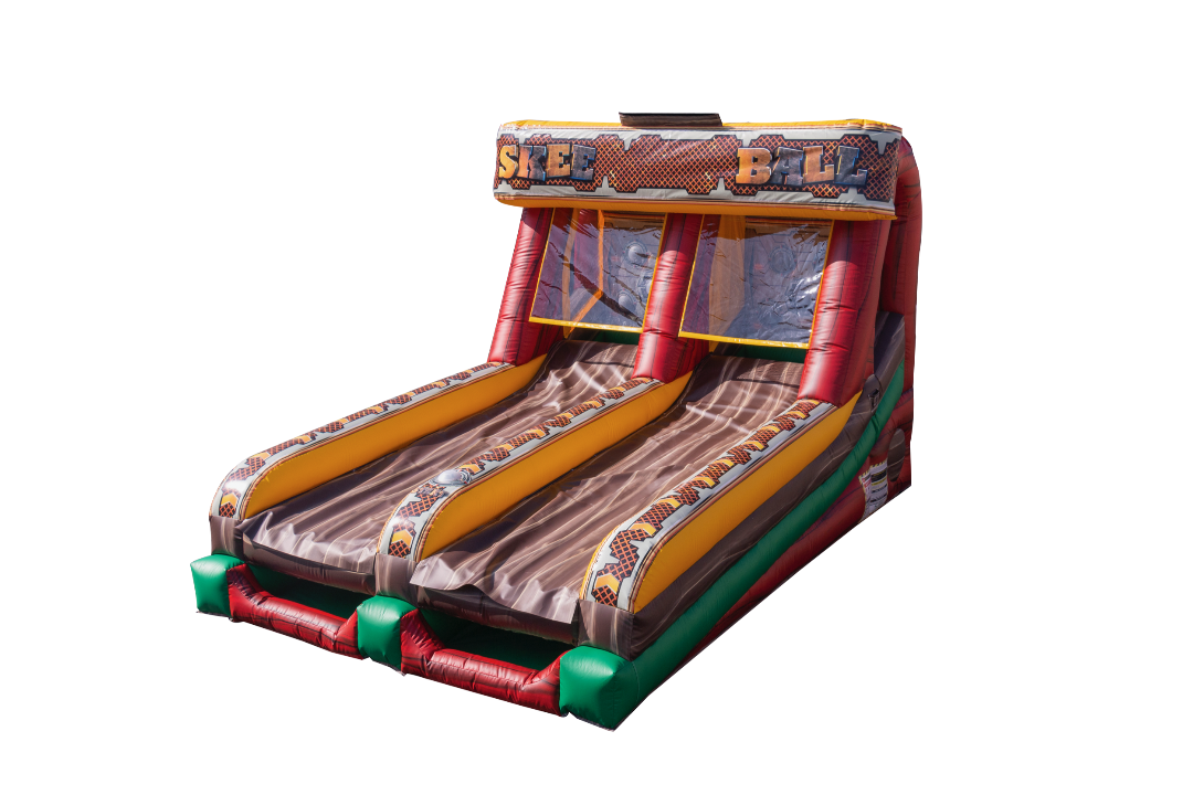 Inflatable Skeeball Game Rental California