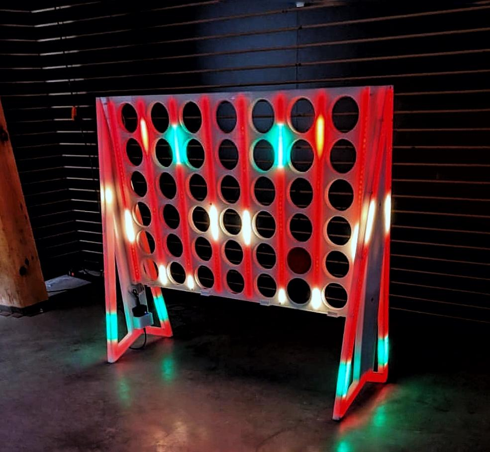 Glow In The Dark Connect 4 Game Rental