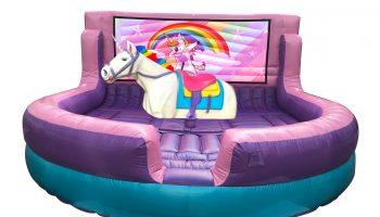 Mechanical Unicorn Bull Ride