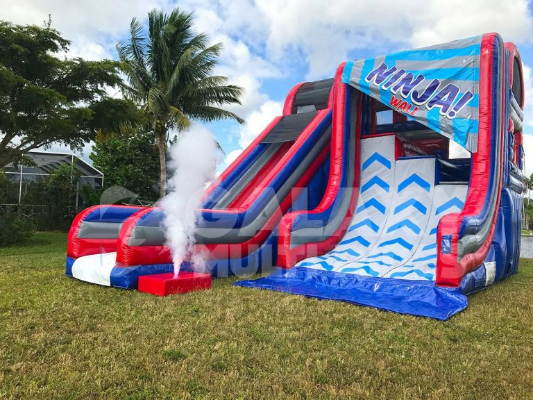 Ninja Warrior Warped Wall Rental