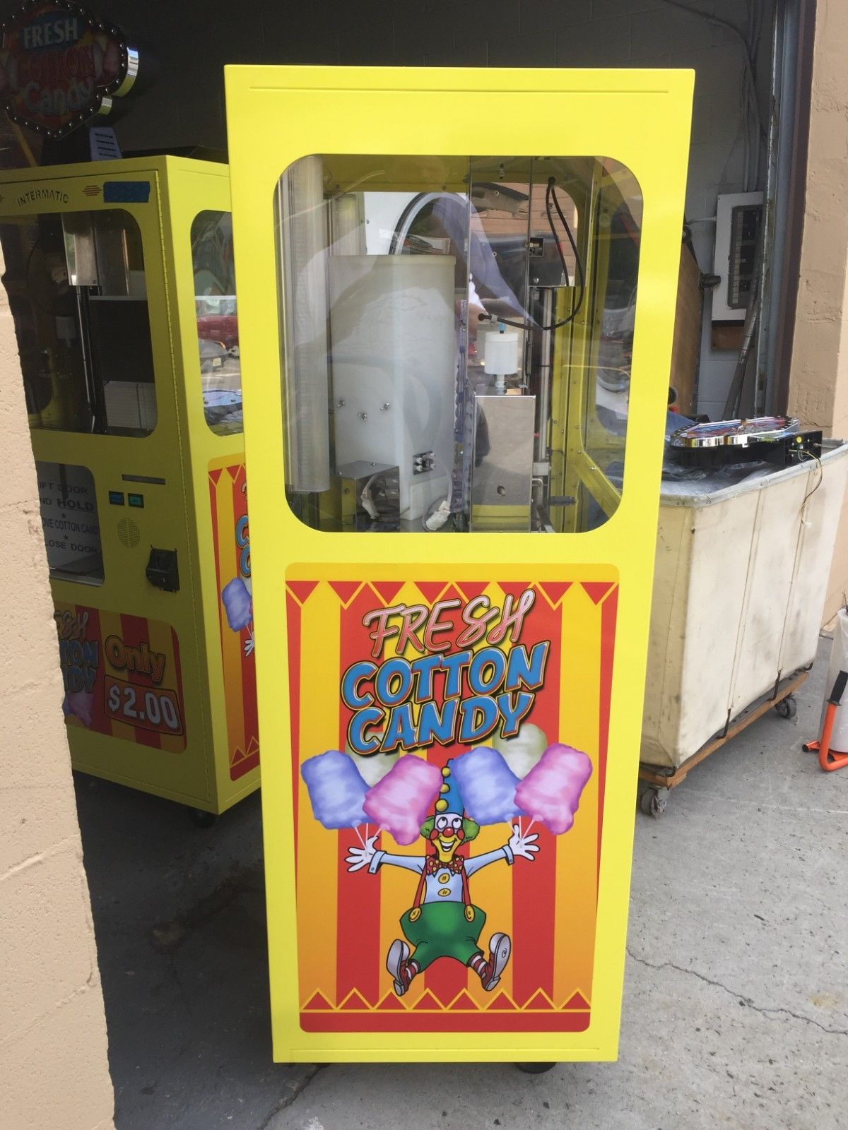 cotton candy machine rental san jose