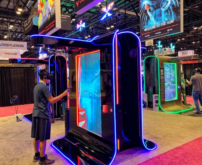 Beat Saber VR Arcade Game Rental