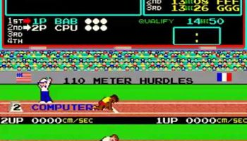 track and field game rental california