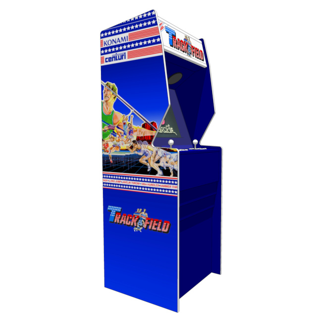 track and field arcade game rental san jose
