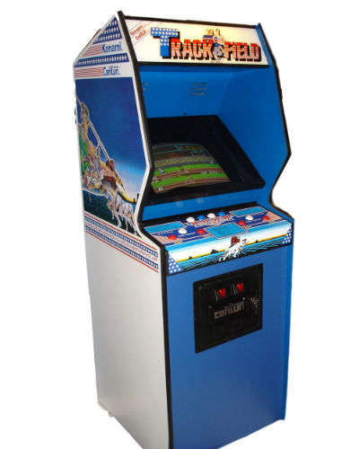 track and field arcade game rental