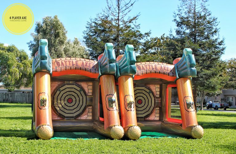 Inflatable Axe Throwing Game Rental