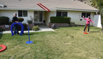 Giant Horseshoe Game Rental San Jose