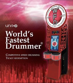 World's Fastest Drummer Arcade Game