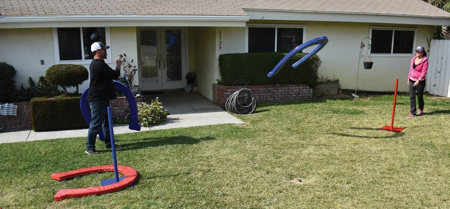 Giant Horseshoe Game Rental California