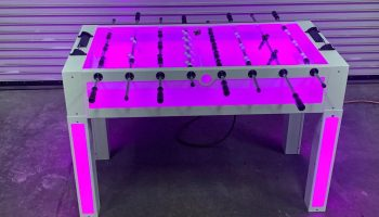 Led foosball table san francisco