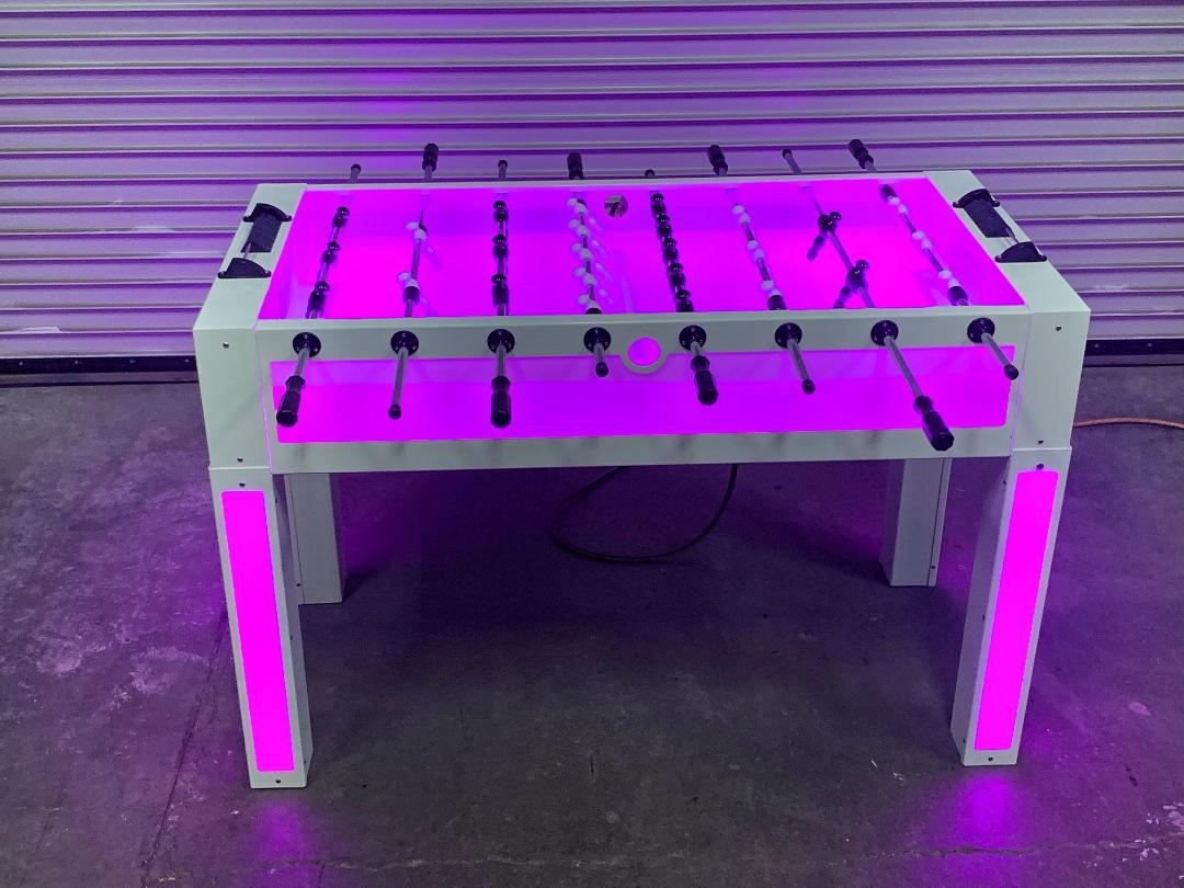 Led foosball table san francisco