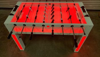Glow LED Foosball Table