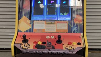 Atari Tetris Arcade Game