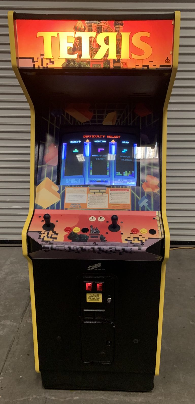 Arcade Game Rental Tetris