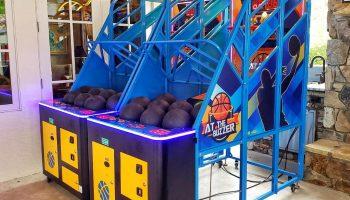 basketball arcade game rental california