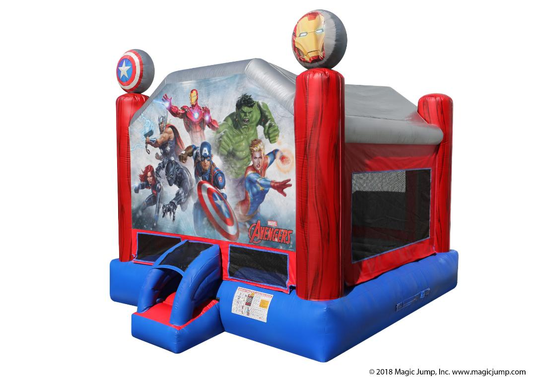 Avengers Inflatable Bounce House