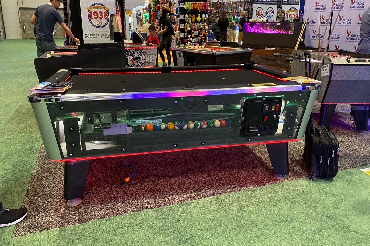 Led Glow Pool Table