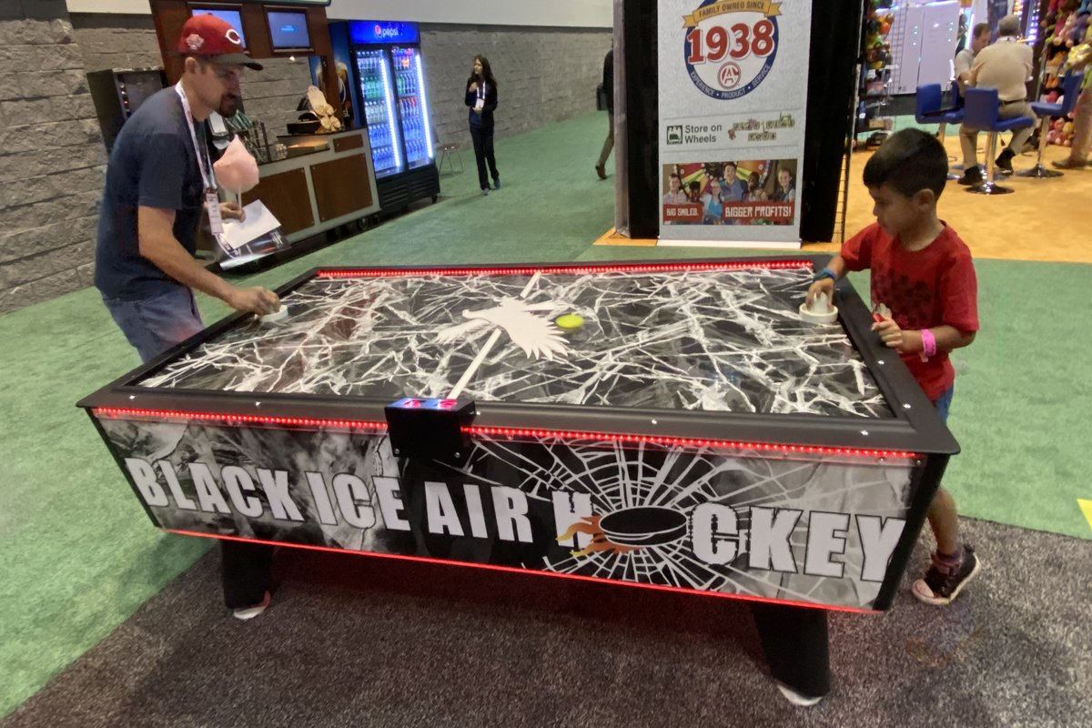 san francisco led air hockey table rental