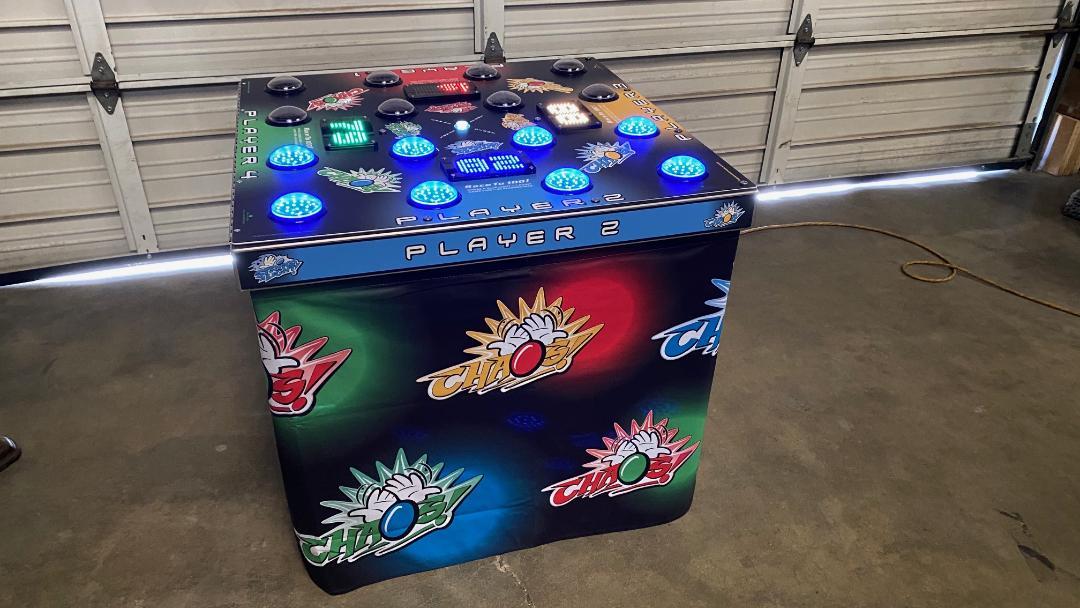 Strike A Light Arcade Game Rental California