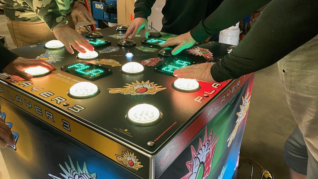 Strike A Light Arcade Game Rental San Francisco
