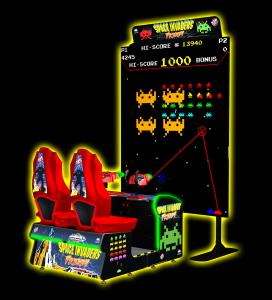 Giant Space Invader Arcade Game San Jose