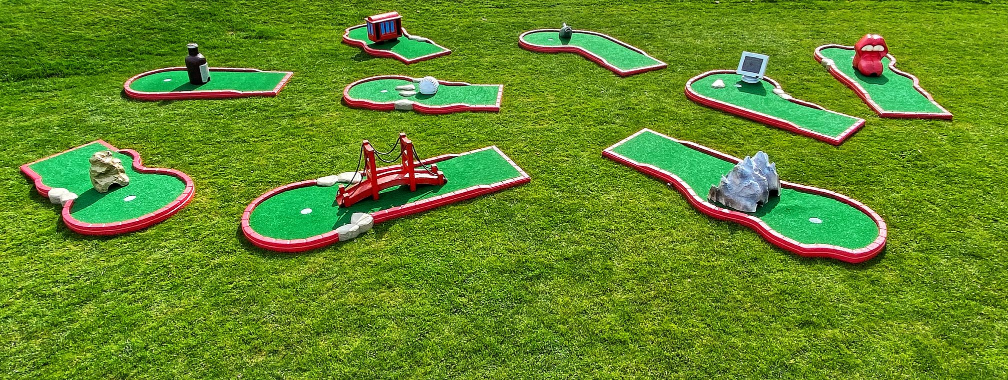 Miniature Golf Course Rental San Francisco