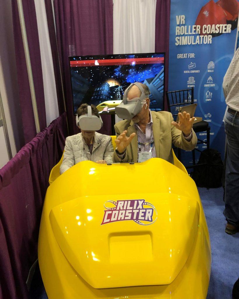 Virtual Reality Roller Coaster Rental