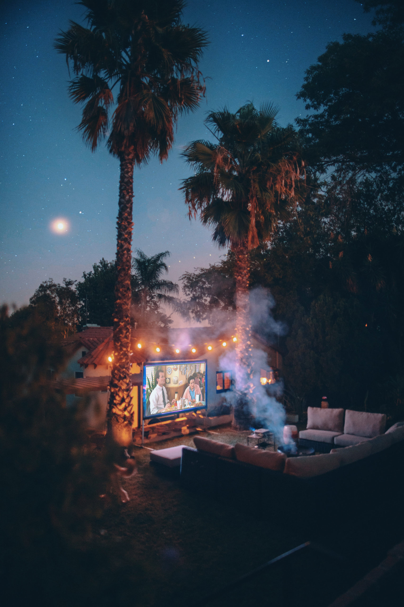 Outdoor movie Rental San Francisco Bay Area