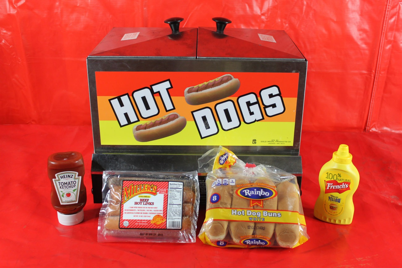 hot dog machine rental san jose ca