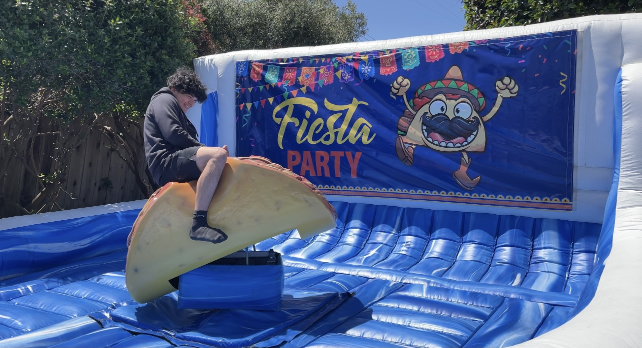 mechanical taco Tuesday party rental