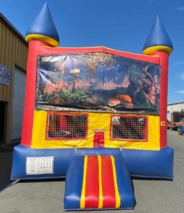 Halloween Inflatable Jump House Rental
