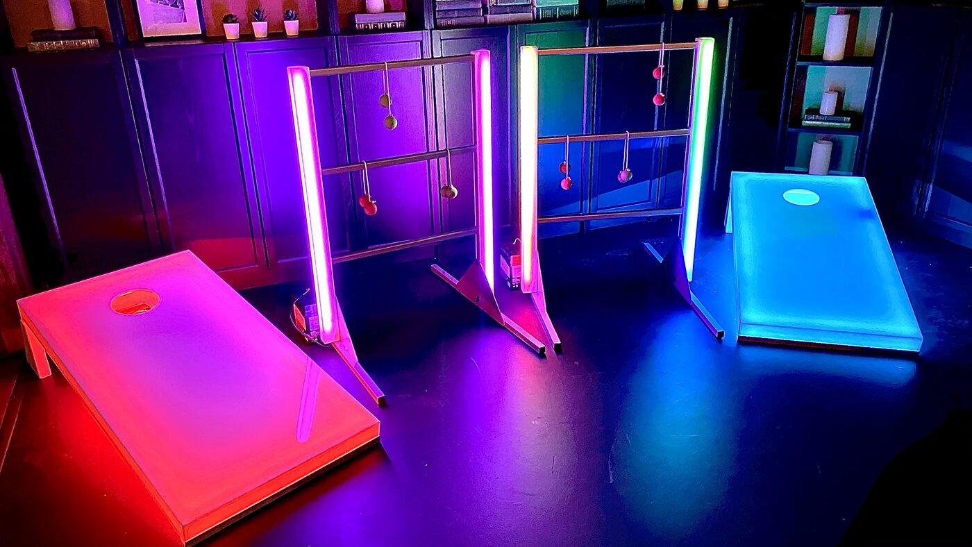 Glow Led Carnival Game Rentals