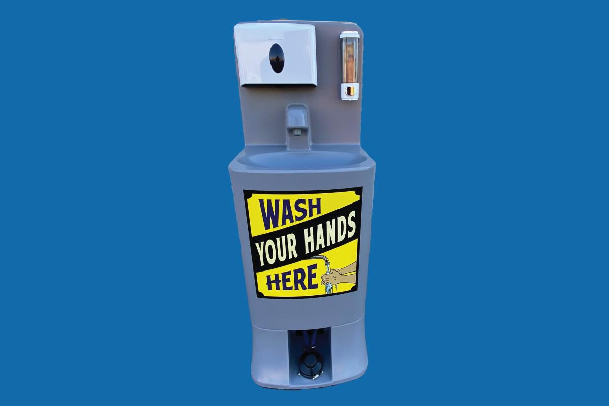 portable hand washing station rental california