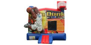 Slam Duck Basketball Bounce House Rental