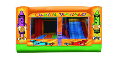 Crayola Combo Toddler Bounce House