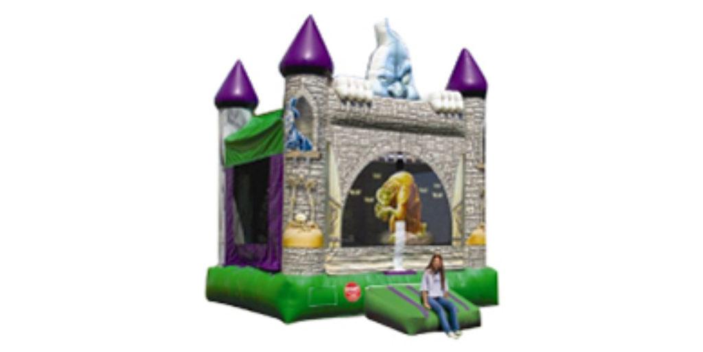 Scary Castle Bounce House Rental