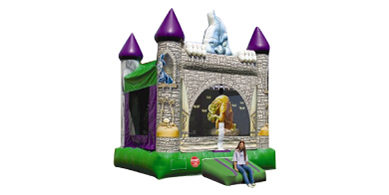 Scary Castle Bounce House Rental