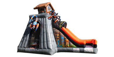 Spider Bugs Bounce House Combo Rental