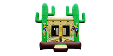 Western Ho-Down Inflatable Bouncer