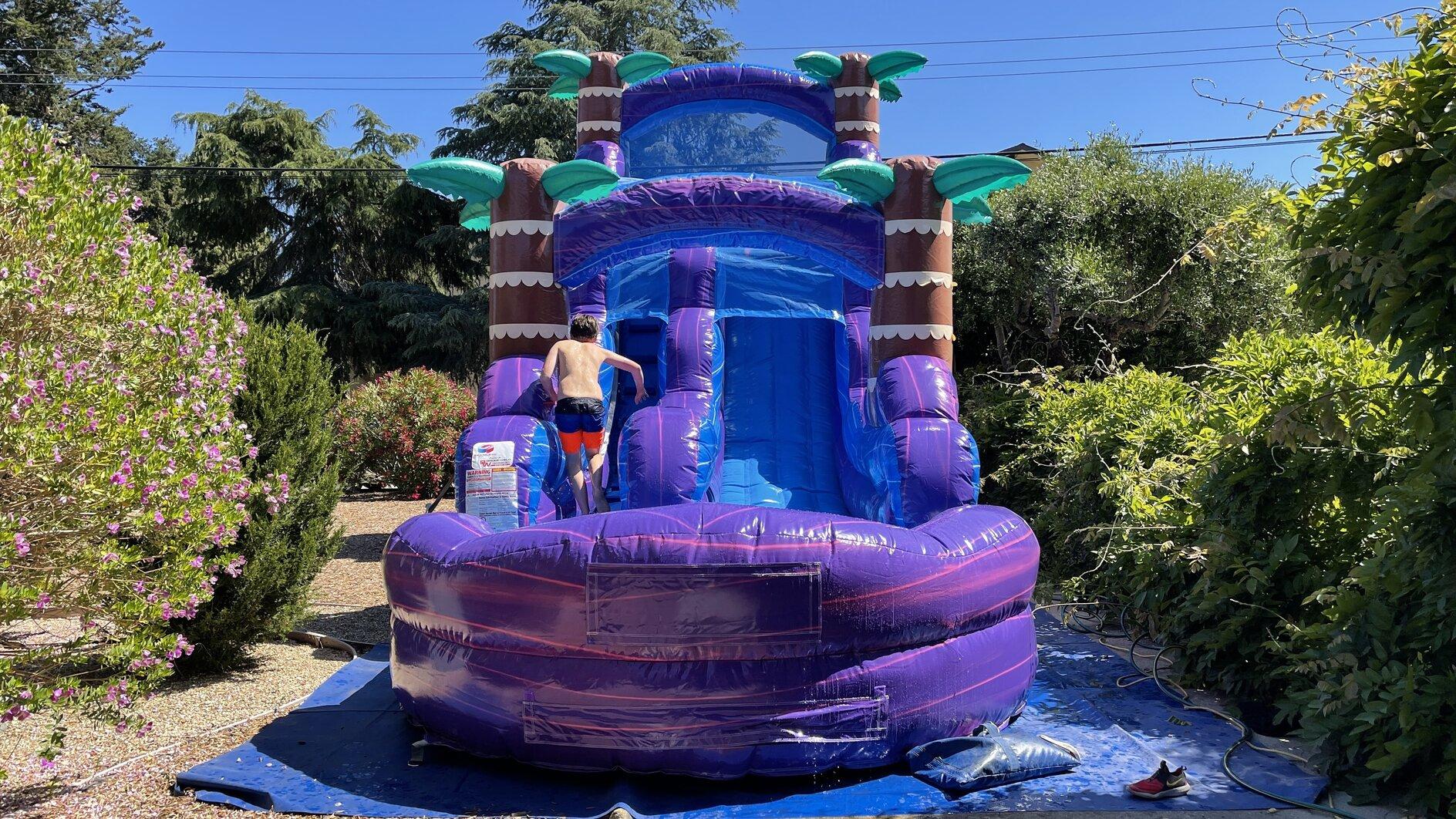 Water Slide Rental California